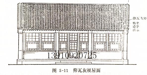 合瓦屋面主要见于小式建筑和北京